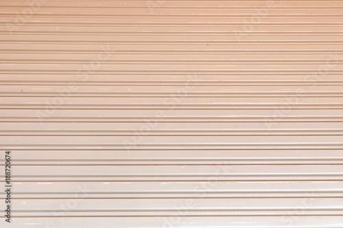 Fototapeta Gray Steel sliding door background obraz na płótnie
