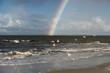 Regenbogen am Strand von Amrum