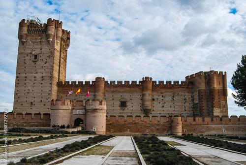 Staande foto Marokko Castillo de la Mota,Medina del Campo, Valladolid