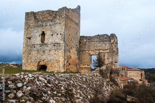 Zdjęcie XXL Ruiny Calatañazor jego zamku