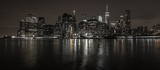 Fototapeta Nowy York - New York City Skyline bei Nacht