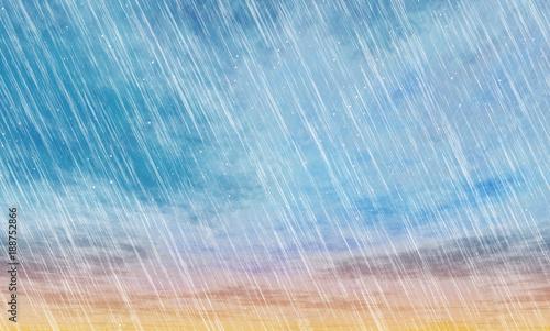 rain storm backgrounds фототапет