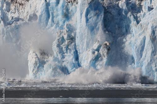 Aluminium Prints Glaciers Columbia Glacier, Columbia Bay, Valdez, Alaska