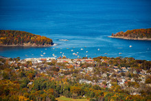 View Of Bar Harbor Maine