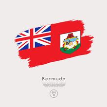 World Flag In Grunge Brush Str...