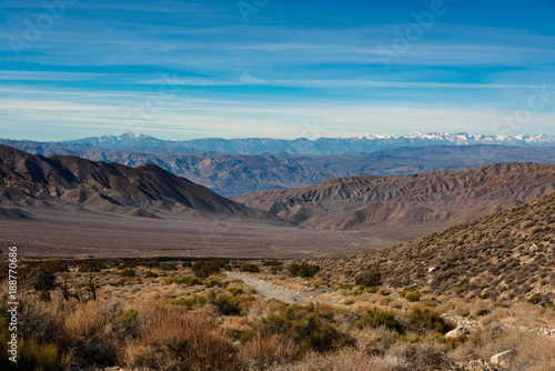 Foto op Aluminium Zalm Death Valley National Park Landscape Mountains Panorama, California, United States