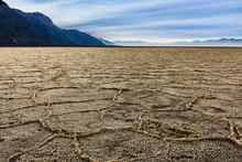 Soil Salt Patterns In Badwater...