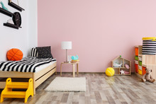 Children Room Interior With Co...