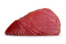 Fresh Tuna Steak Isolated On A...