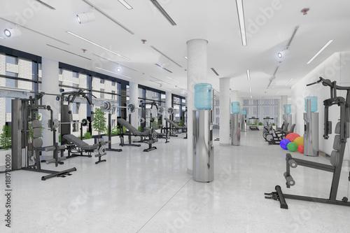 Fotografie, Obraz  Fitness - Sport - Fitnessstudio - Fitnesscenter - Krafttraining - Kraftsport