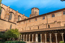 Cloister Of Augustins On A Sun...