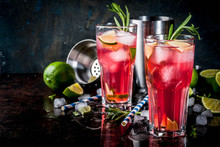 Refreshment Alcoholic Red Cran...
