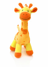 Giraffe Plushie Doll Isolated ...