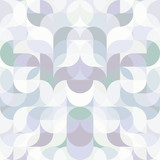 Abstract vector colorful geometric harmonic wave background - 188816088