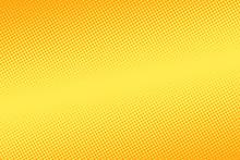 Yellow Halftone Background