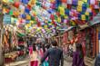 canvas print picture - Thamel, Kathmandu, Nepal