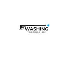 Pressure Washing Gun Logo Temp...