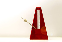 Mechanical Metronome Of Red Co...