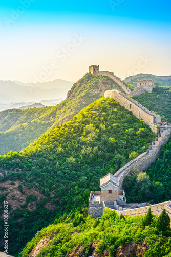 Photo sur Aluminium Pekin The Great Wall of China