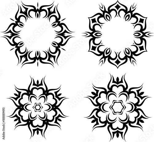 033268e11 Tribal Tattoo Sun - Buy this stock vector and explore similar ...