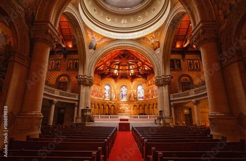 Cathedral Interior (horizontal) Canvas Print