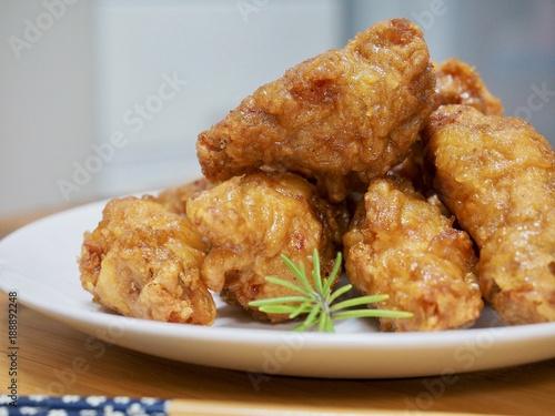 Foto op Aluminium Kip 간장양념 치킨