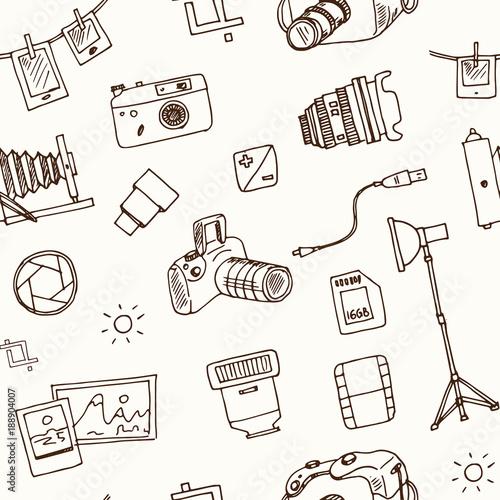 recznie-rysowane-doodle-fotografii-wzor