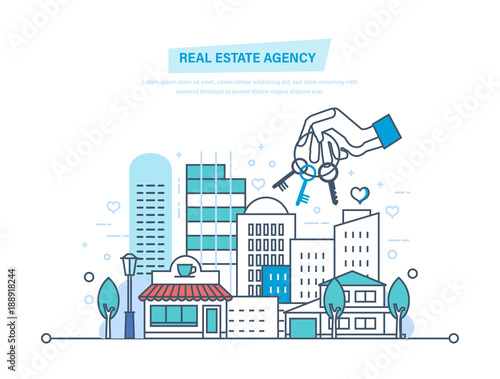 Real estate agency. Sale, rent of commercial, private real estate.