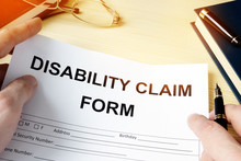 Man Holding Disability Claim F...