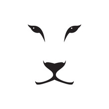 Vector Image Of A Lioness Head...