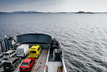 Ferry That Transports Cars