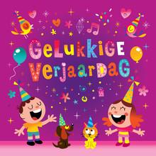 Gelukkige Verjaardag Dutch Hol...