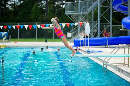 Zdjęcie XXL Lekcja pływania z deski do nurkowania