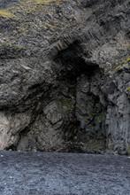 Vik Basalt Cave Entrance