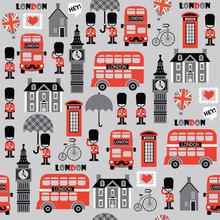 London Street Vector Pattern F...