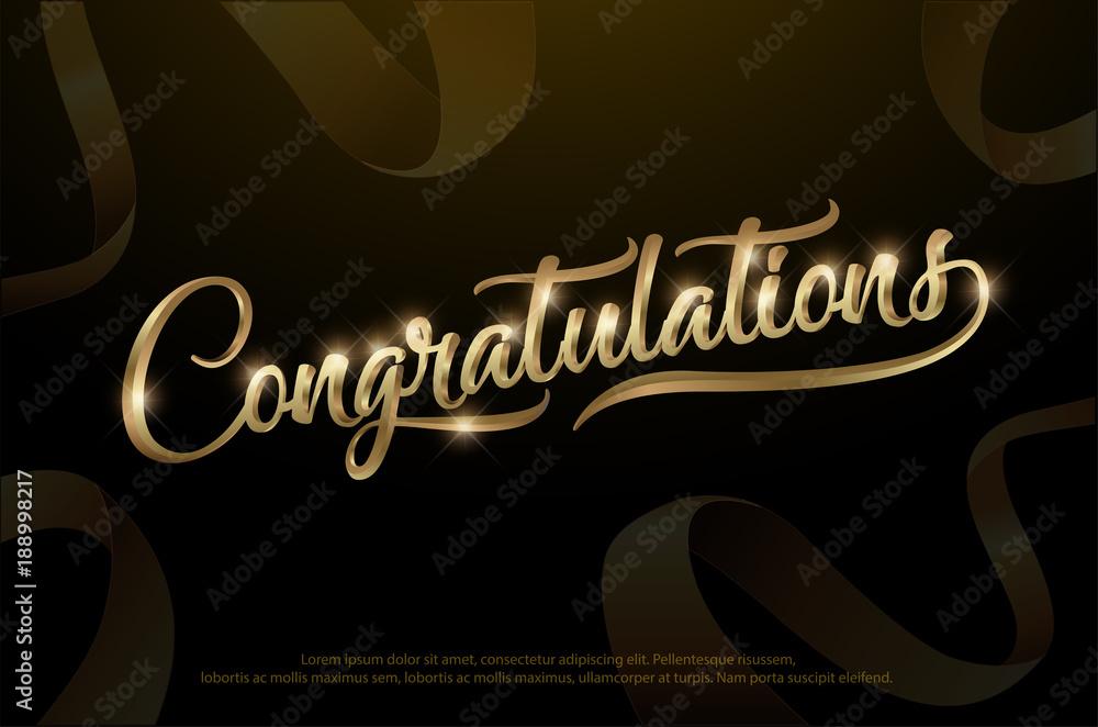 Photo  Congratulations