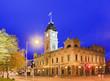 Leinwanddruck Bild - VIC Ballarat Town Hall corner rise