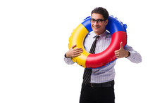 Young Businessman With Life Bu...