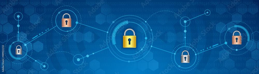 Fototapeta Cyber security