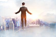 Success And Balancing Concept