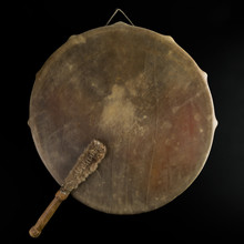 Ancient Indian Tambourine Drum...