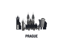 Prague Art Design Concept. Fla...
