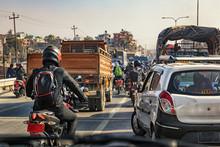 Kathmandu Traffic Jam, Nepal