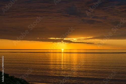 In de dag Ochtendgloren Spectacular sunset nature background