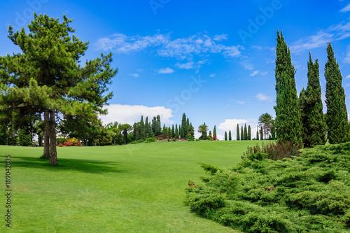 Foto op Plexiglas Pistache Sigurta Park, Włochy