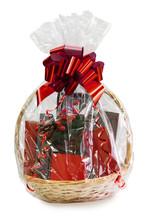 Gift Basket Packed In Transpar...