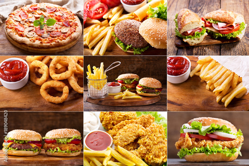 various fast food products © Nitr