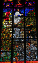 Stained Glass In Votivkirche I...