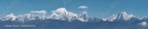 Wall Murals Nepal Himalayan Peaks Seen from Nagarkot View Tower, Nepal