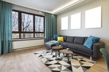 Modern Stylish Interior Design - Living Room